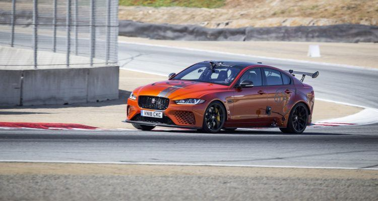 Jaguar XE SV Project 8 750x400 - Jaguar XE SV Project 8 Sets Another Speed Record