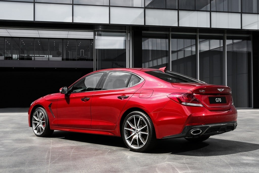 2019 Genesis G70 Racks Up Features But Easy On Price