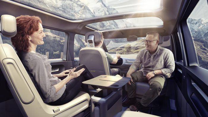 VW I.D. Buzz Concept Interior