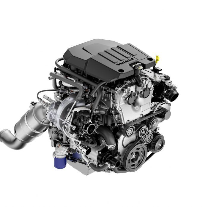 2 7L Turbo with Active Fuel Management and stopstart technology
