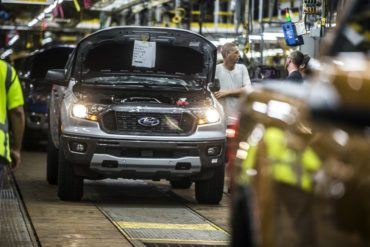 2019 Ford Ranger Production