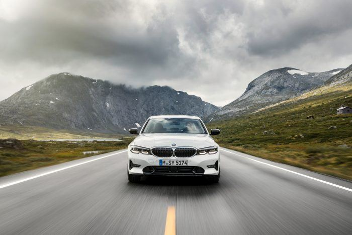 The all new 2019 BMW 3 Series. European Model Shown 284229