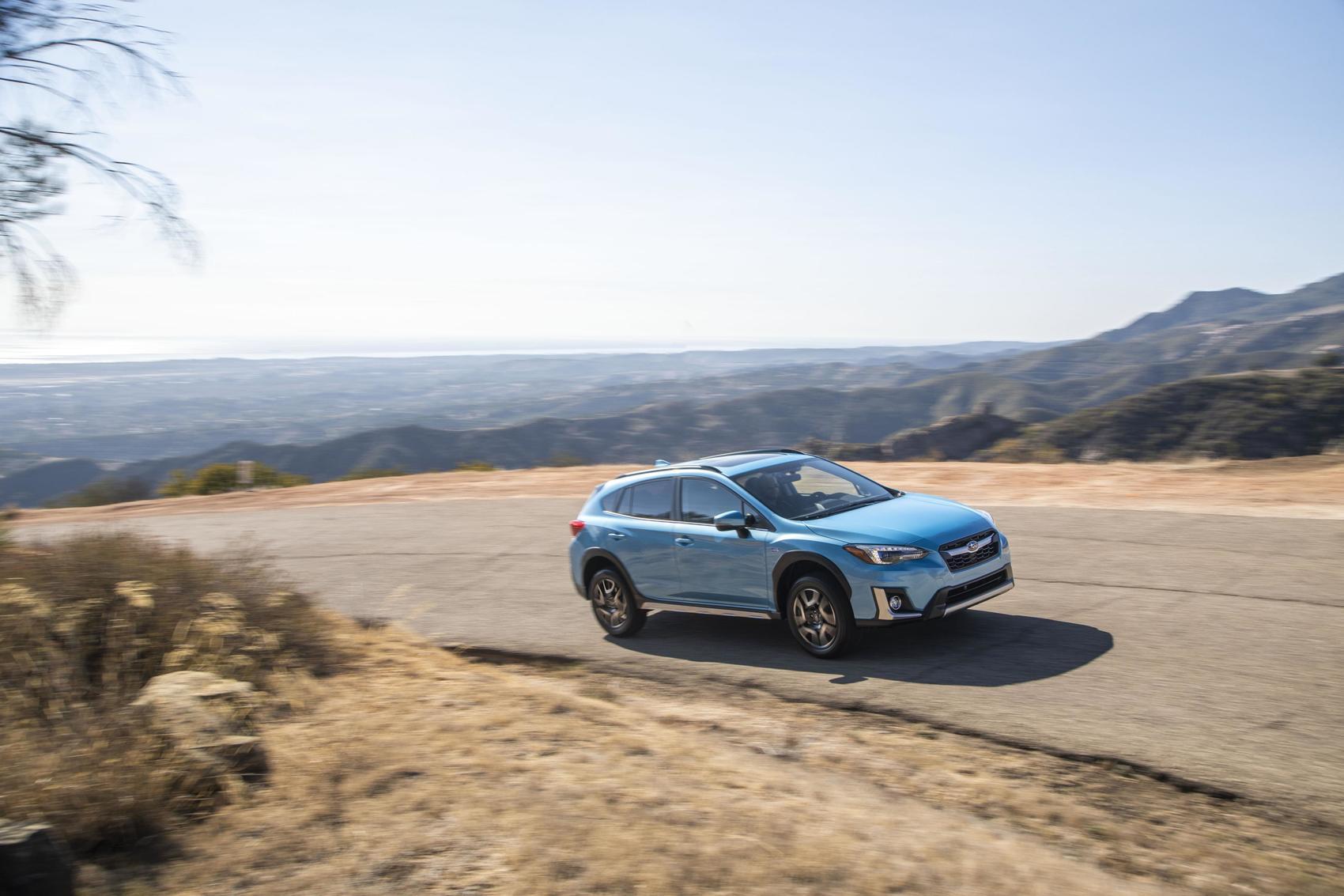 2019 Subaru Crosstrek Hybrid Space Age Technology Logical