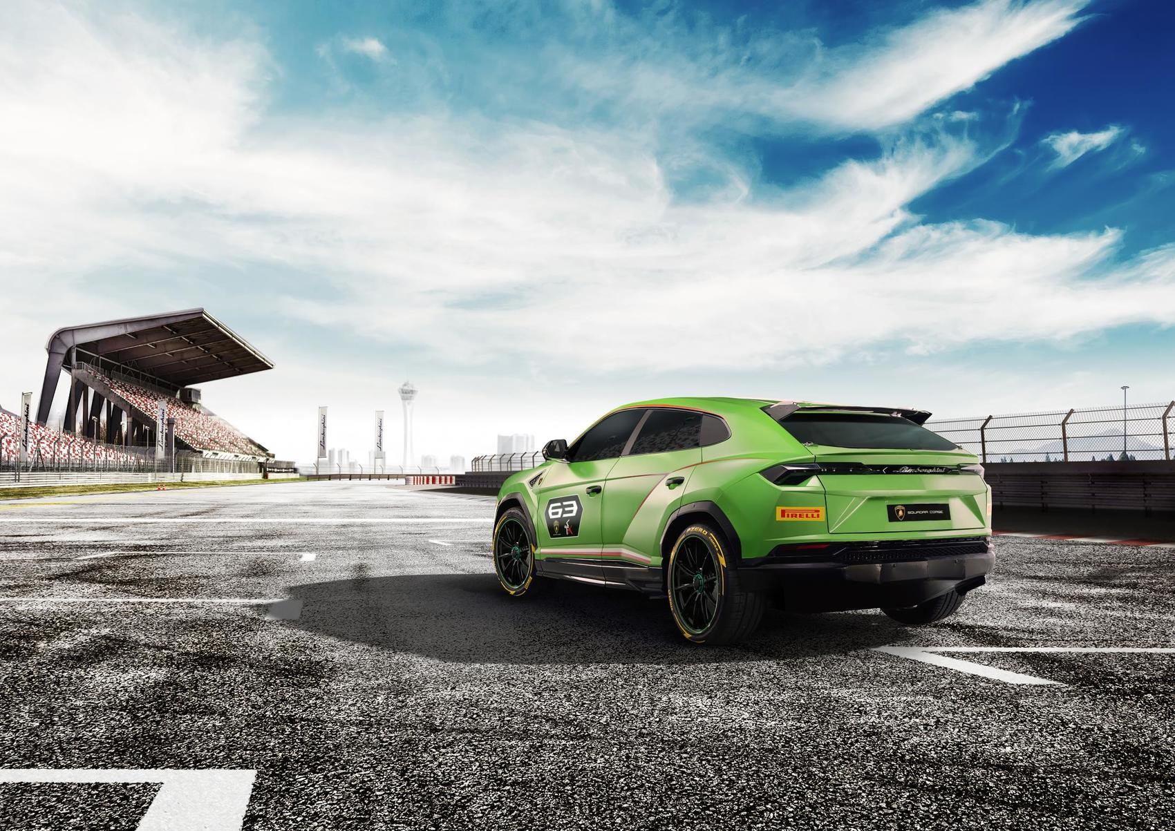 Lamborghini Urus Suv Race Car No Really
