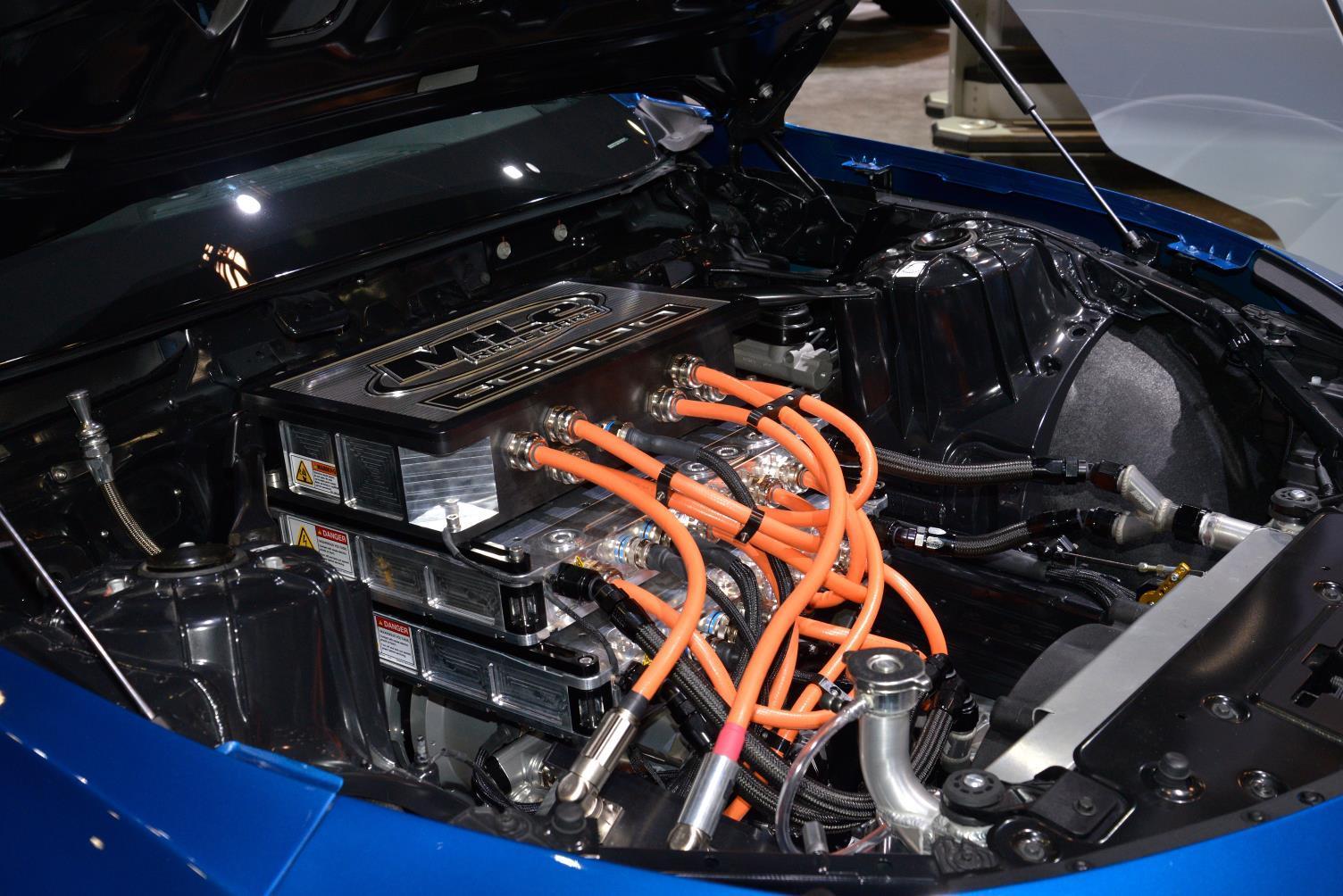 Chevy Ecopo Camaro Concept Drag Racing Goes Electric