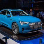 Electric goes Audi e tron world premiere 4746