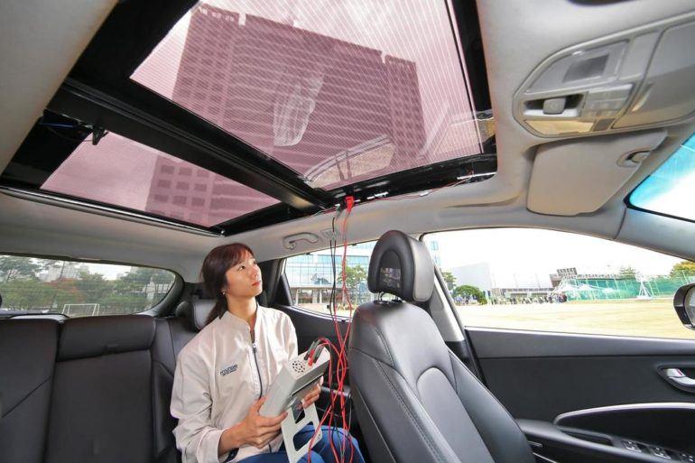 Hyundai Motor Group Solar Charging Technology