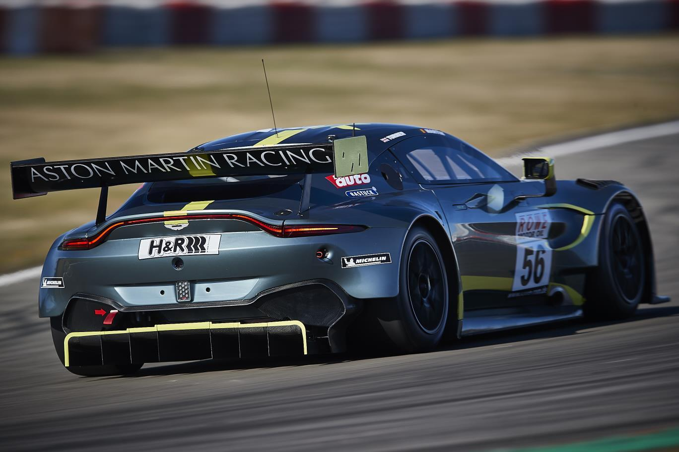 Aston Martin Vantage Gt3 To Take On Abu Dhabi