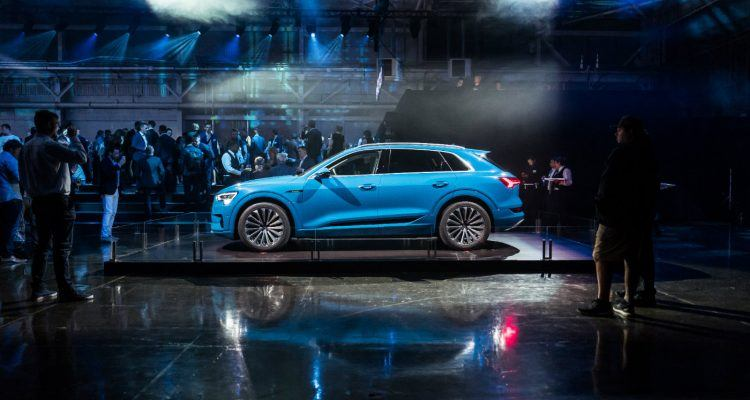 Large Electric goes Audi e tron world premiere 750x400 - The 2019 Audi e-tron Will Make You Change Your Mind About EVs