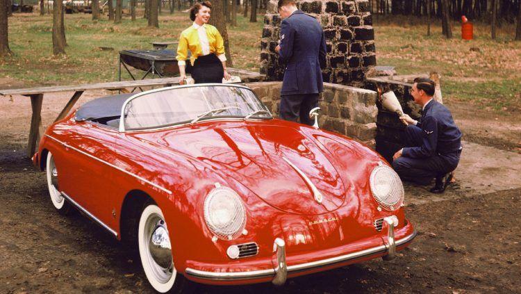 1955 1956 Porsche 356 A Speedster