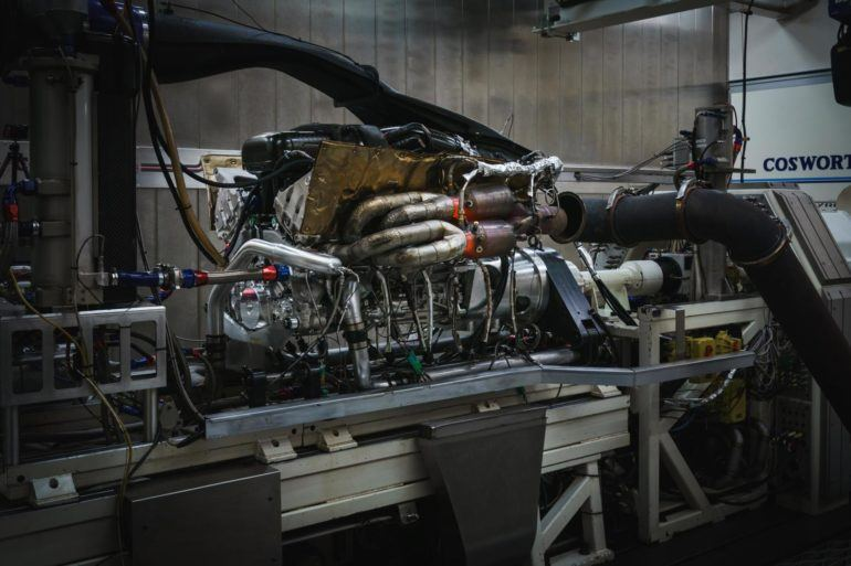Aston Martin Valkyrie Engine 1