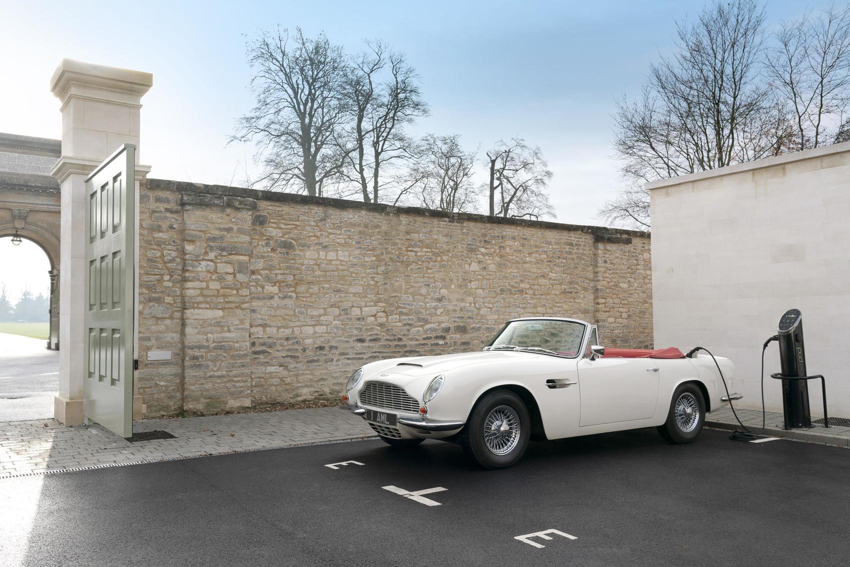 Would You Drive This Vintage Aston Martin EV?