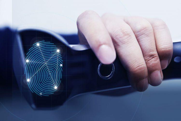 Hyundai fingerprint technology press photo2