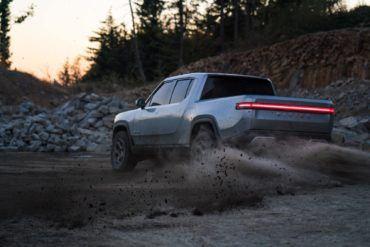 K. Rivian R1T Fun In Dirt 2