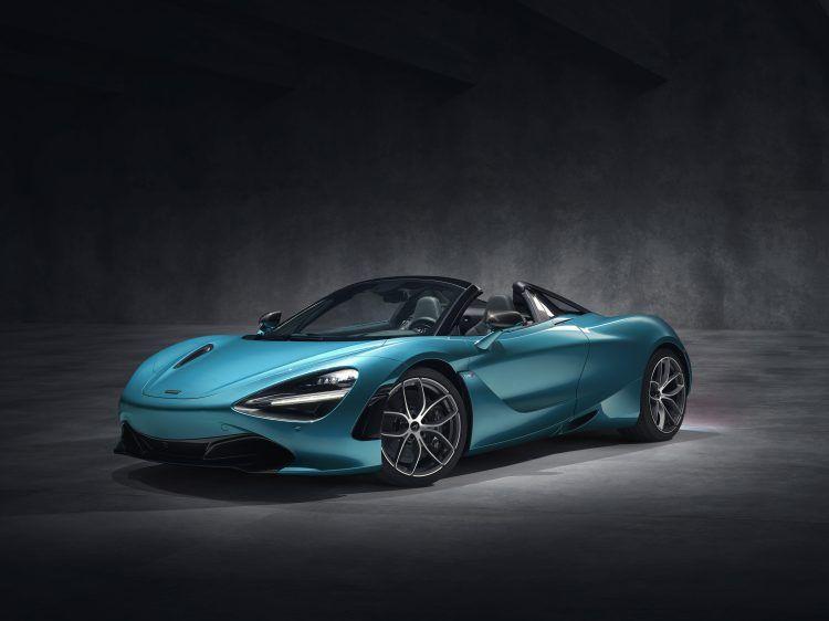 McLaren 720S Spider Dec 2018 studio image 01