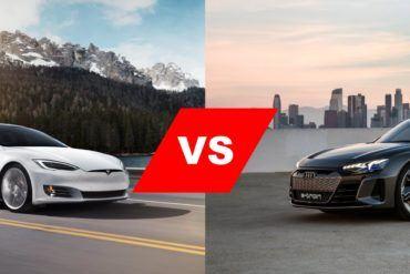 Tesla Model S vs Audi e-tron GT