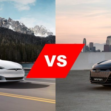 Tesla Model S vs Audi e-tron GT