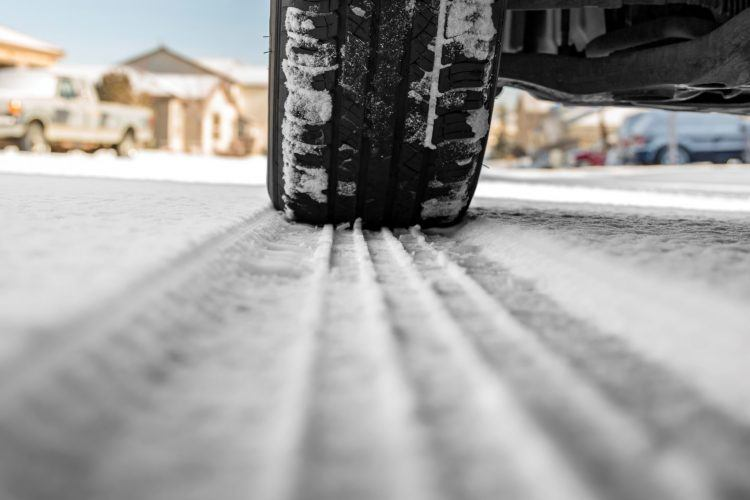 tire in snow PVS9RB6