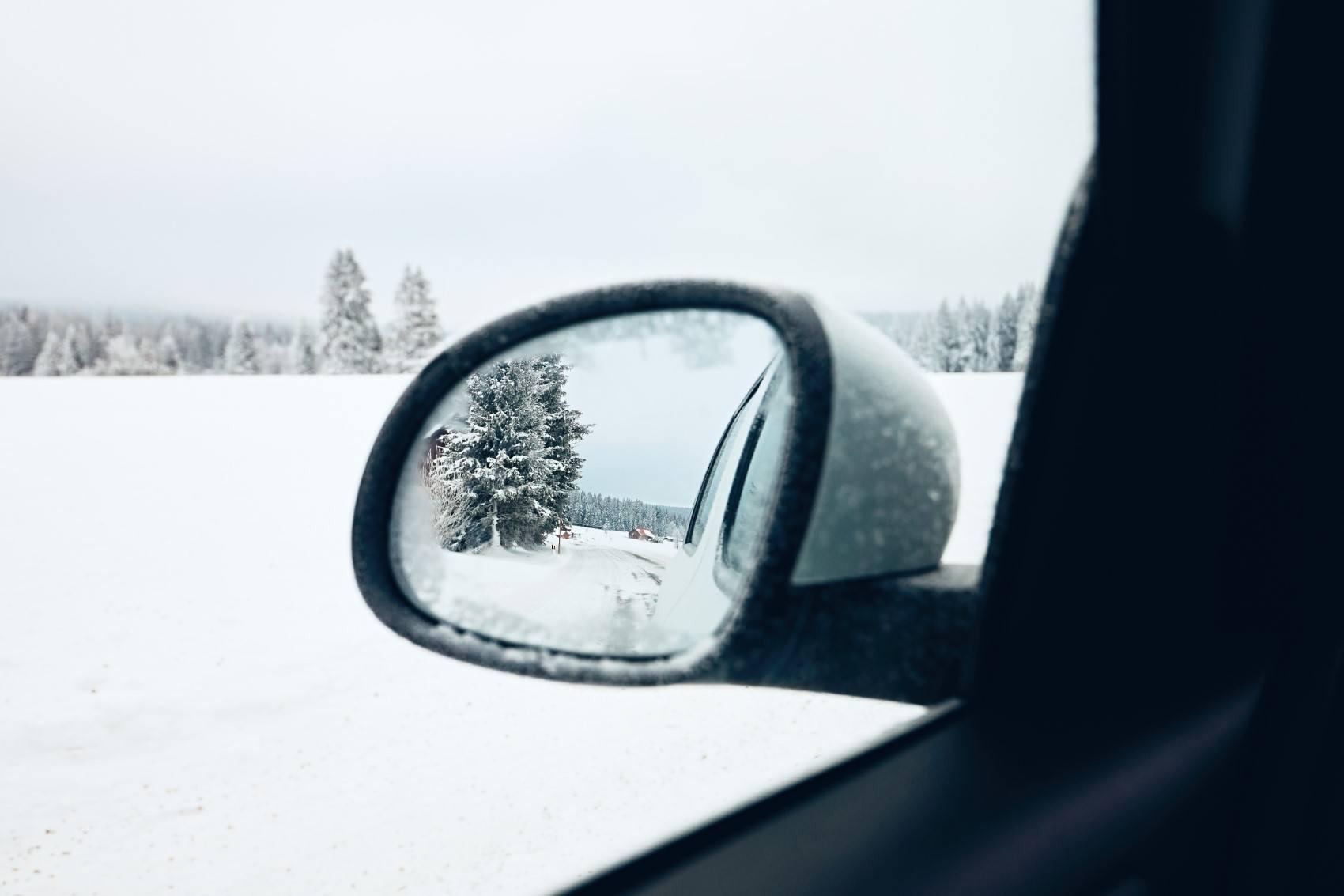 winter on the road PUHJVPD