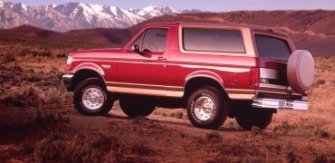 1994 Ford Bronco Eddie Bauer 370x180 - Does Your Favorite Football Team Have A Matching Vehicle?