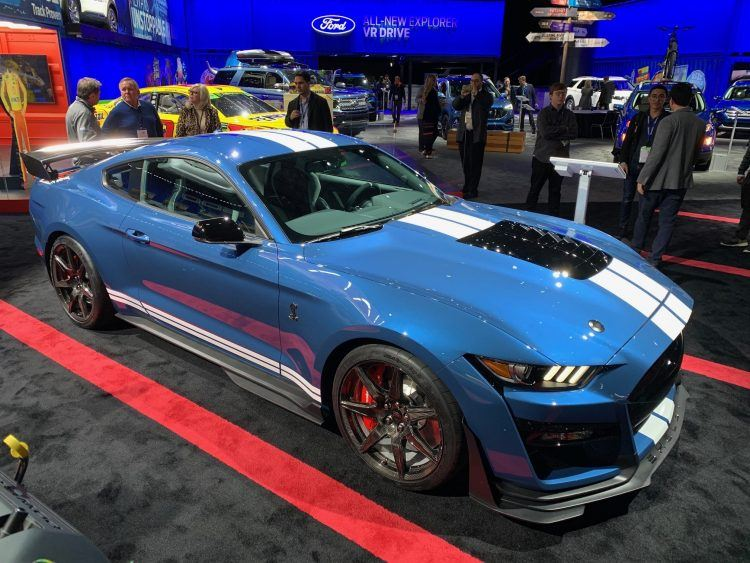 Ford Mustang Shelby GT500 NAIAS
