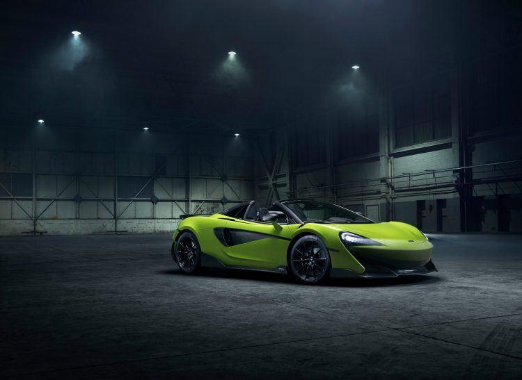 McLaren 600 LT Spider Jan 2019 image01