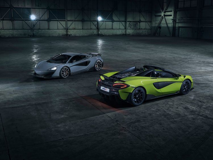 McLaren 600 LT Spider Jan 2019 image06 with Coupe