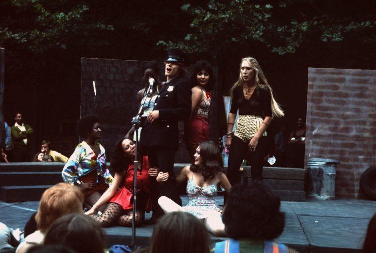 Performers at Bumbershoot 1974