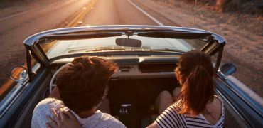 Valentines Day Couple 370x180 - The Five Most Romantic Classic Cars For Valentine's Day