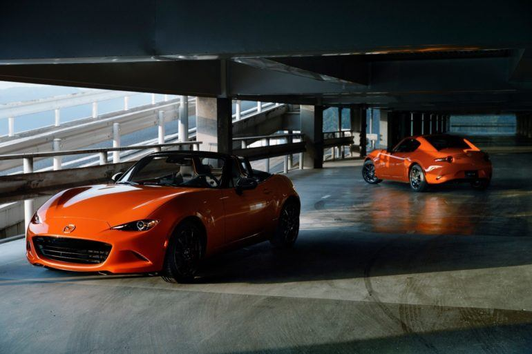 2019 Mazda MX 5 Miata 30th Anniversary 02