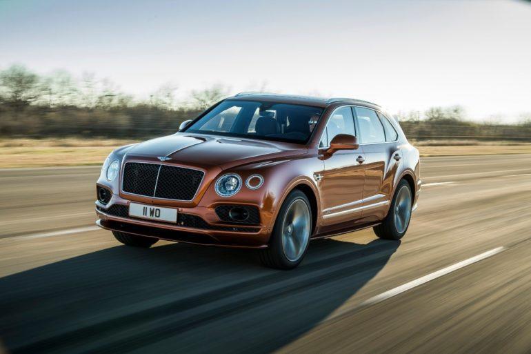 Bentley Bentayga Speed: Meet The World's Fastest SUV 26