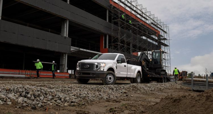 F 350 White 750x400 - 2020 Ford Super Duty: An In-Depth Look At Dearborn's Big Slugger