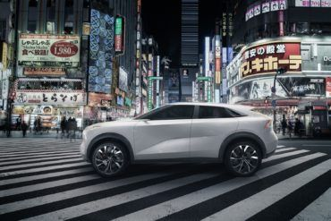 INFINITI QX Inspiration Concept Side