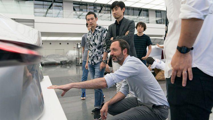 INFINITI   QX Inspiration Design team 11