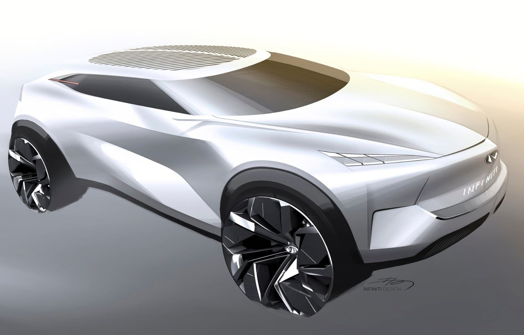 Infiniti Qx Inspiration The Potential Of Empty Spaces