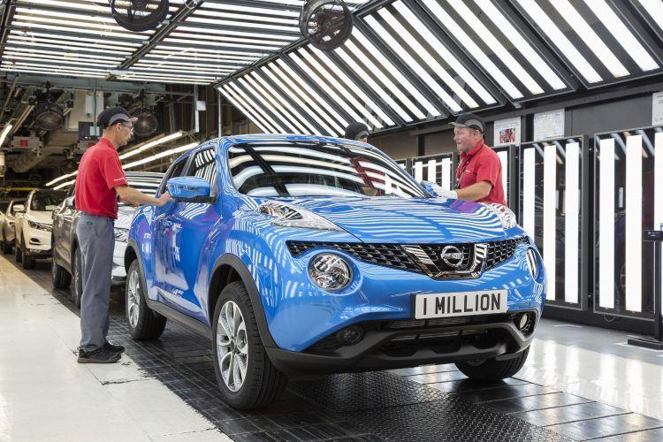 Nissan Juke Sunderland Plant
