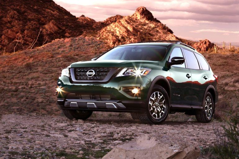 Nissan Pathfinder Rock Creek 22