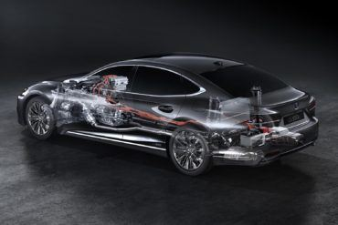 2018 Lexus LS 500h Debut 20 9391EBCCEA7CB0832C4B13458001DC4CF173CA80