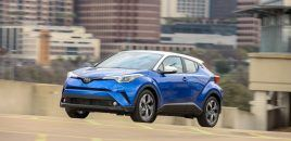 2019 Toyota C-HR Review: Good Looking But Definitely Average