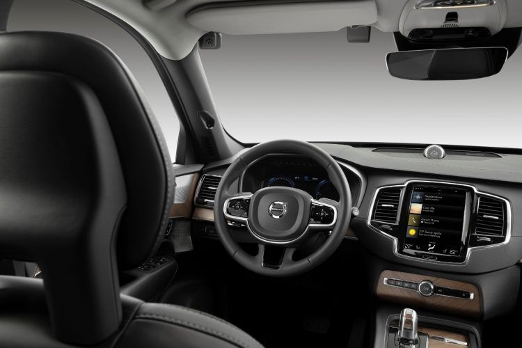 250105 Driver Monitoring Camera in a Volvo research vehicle