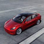 Model 3 Performance Red Above Tarmac 1