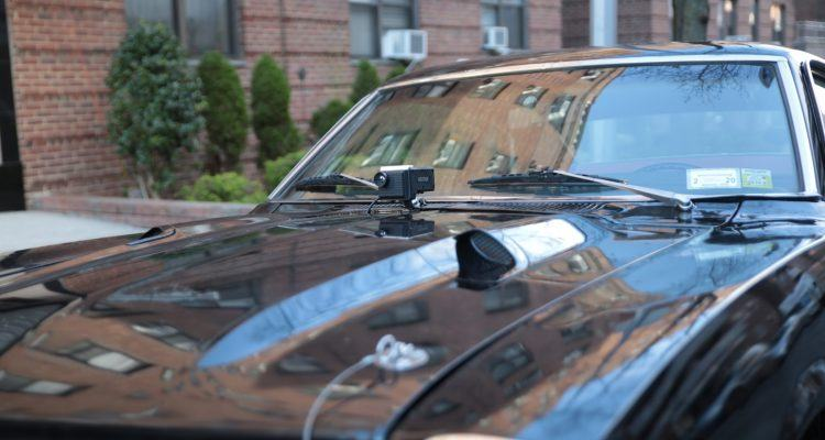NightRide Hood Mounted 2 750x400 - Night Vision For The Masses: NightRide Helps Keep Drivers Safe