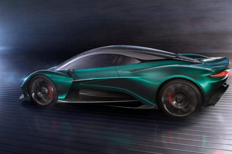 Vanquish Vision Concept: Aston Martin Goes Mid-Engine! 17