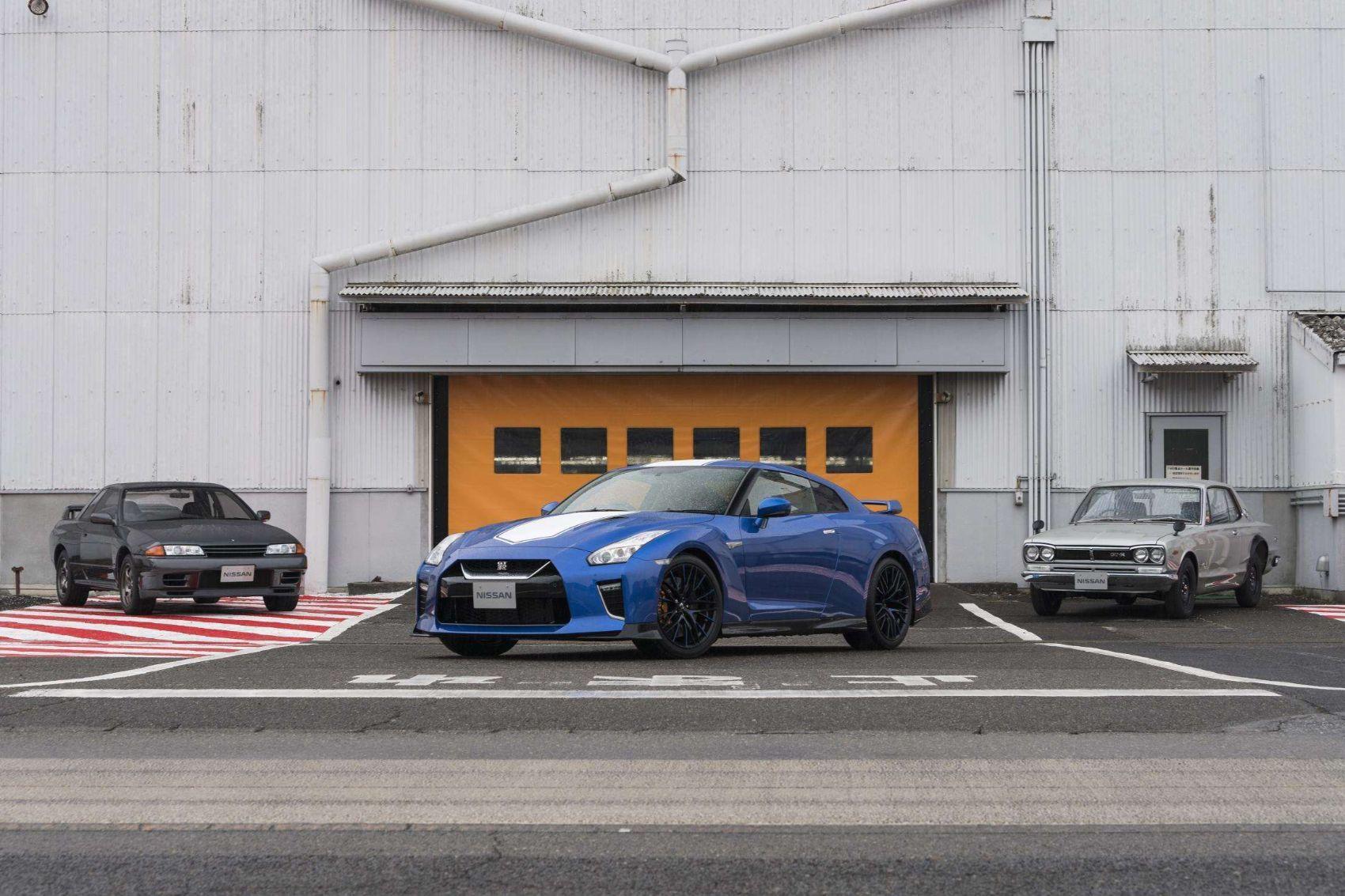 2020 Nissan Gt R 50th Anniversary Gt R Nismo Godzilla Gets Bigger