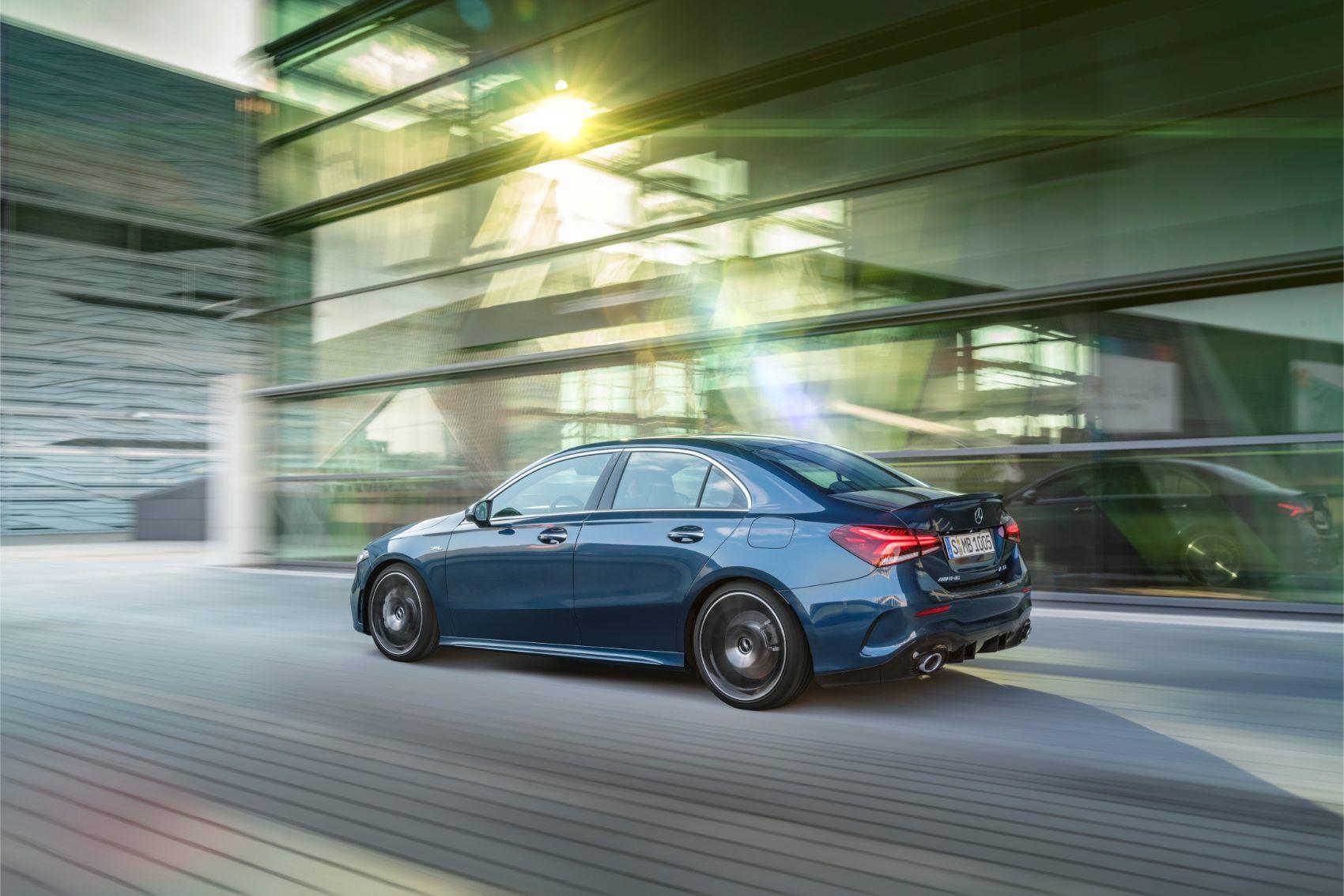 Mercedes-AMG A 35 Sedan: The Nemesis For Audi & BMW Hot Shoes 15