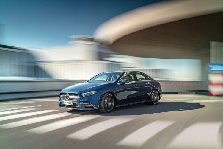 Mercedes-AMG A 35 Sedan: The Nemesis For Audi & BMW Hot Shoes 17