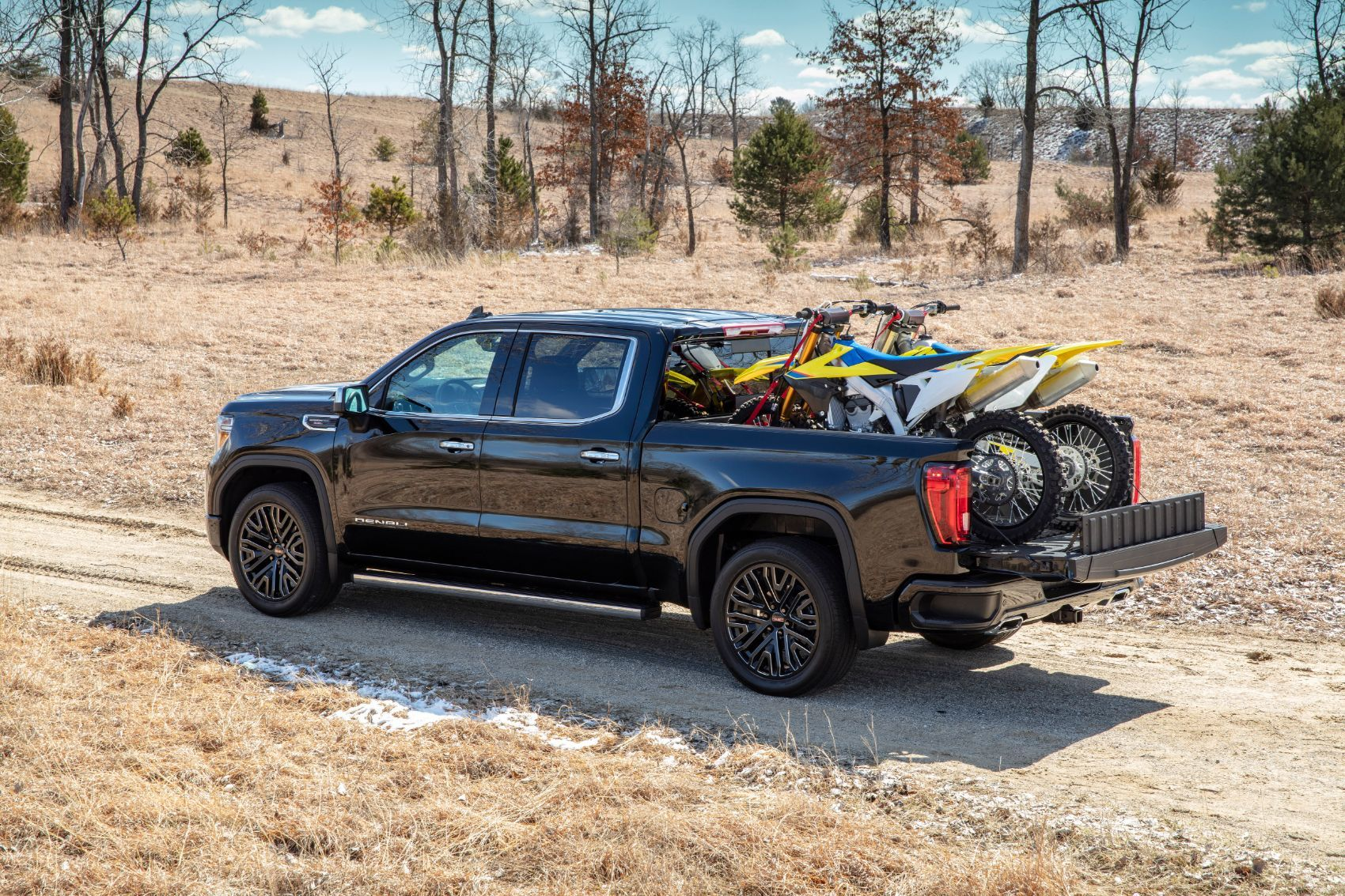 GMC Sierra CarbonPro Edition Vs. Bricks, Water Drums & Snowmobiles