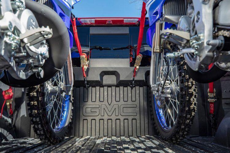 GMC Sierra CarbonPro Edition Vs. Bricks, Water Drums & Snowmobiles 1