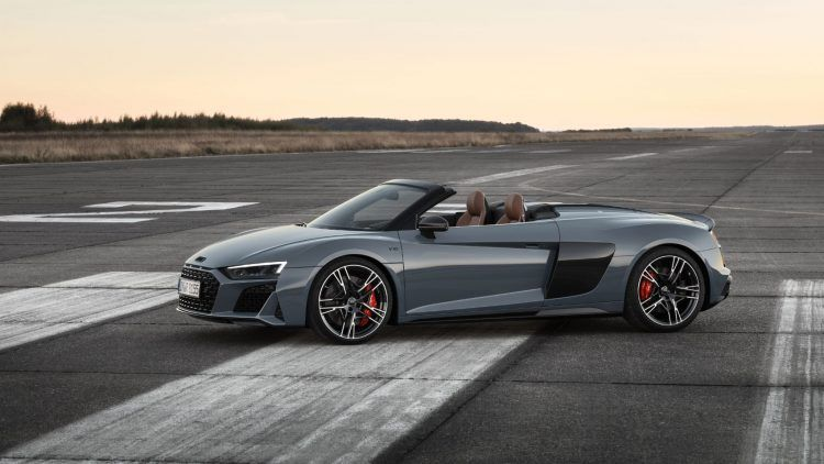 2020 Audi R8 V10 performance Spyder 5676 1 750x422 - 2020 Audi Lineup: A Complete Look At The Updates