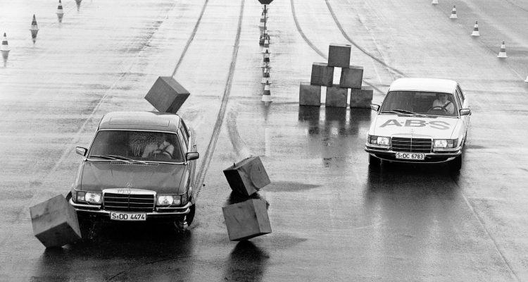 Mercedes Benz ABS 1 1 750x400 - A Brief History of The High-Tech Safety Features In Your Car